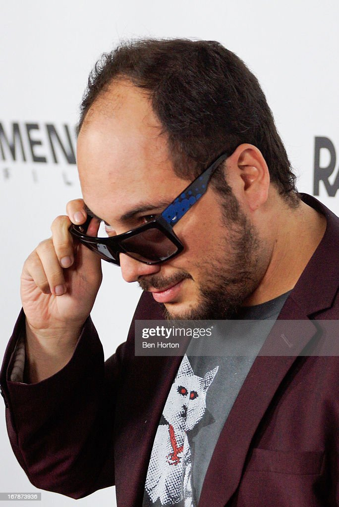 Director Nicolas Lopez attends the premiere of 'Aftershock' at Mann Chinese 6 on May 1 2013 in Los Angeles California
