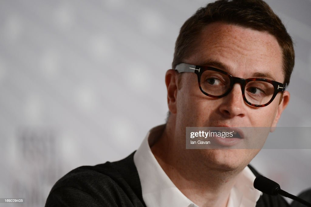 Director Nicolas Winding Refn attends the 'Only God Forgives' Press Conference during the 66th Annual Cannes Film Festival on May 22 2013 in Cannes...