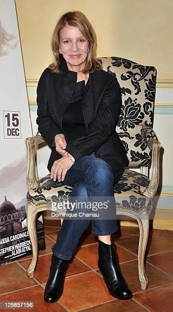 Director Nicole Garcia poses as she attends the ' Balcon sur la mer' SarlatlaCaneda premiere at cinema Rex on November 9 2010 in SarlatlaCaneda France