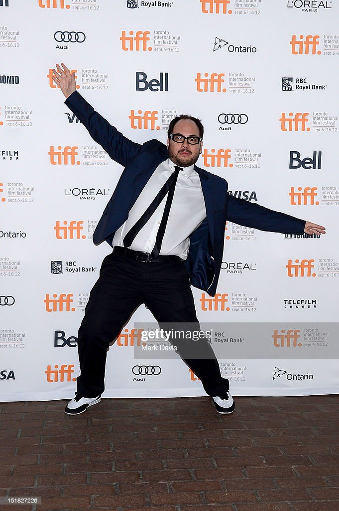 Director Nicolás López attends the 'Aftershock' Premiere during the 2012 Toronto International Film Festival at the Ryerson Theatre on September 11...