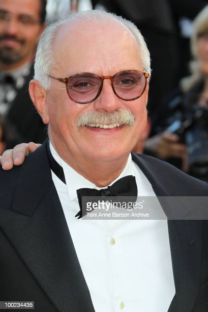 Director Nikita Mikhalkov attends the 'The Exodus Burnt By The Sun 2' Premiere held at the Palais des Festivals during the 63rd Annual International...