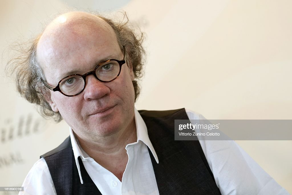 Director Niko von Glasow attends a Portrait Session during the 63rd Berlinale International Film Festival at Glashuette Lounge on February 14, 2013 in Berlin, Germany.
