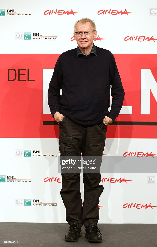 Director Nils Malmros attends the 'Sorrow And Joy' Photocall during the 8th Rome Film Festival at the Auditorium Parco Della Musica on November 11, 2013 in Rome, Italy.