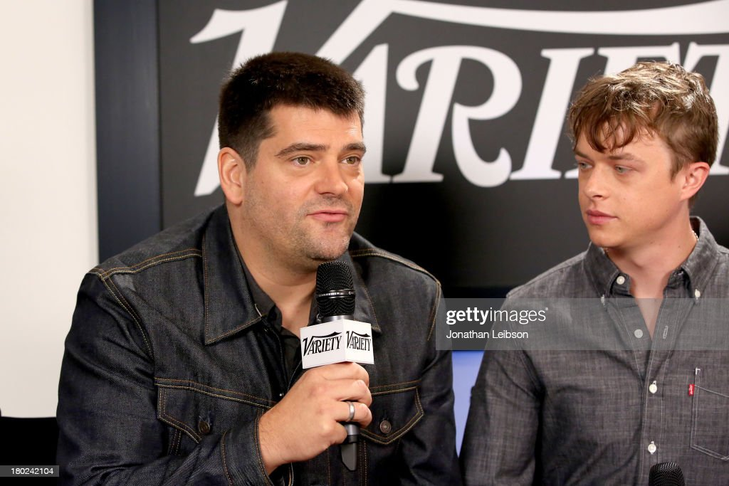 Director Nimrod Antal and actor Dane DeHaan attend the Variety Studio presented by Moroccanoil at Holt Renfrew during the 2013 Toronto International...