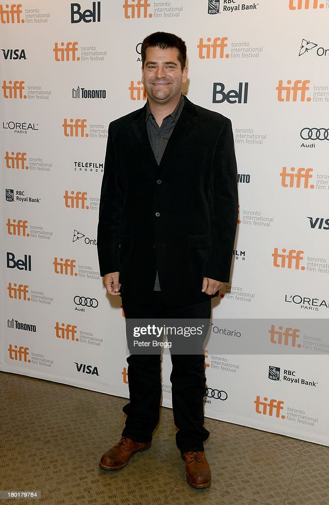Director Nimrod Antal arrives at the 'Metallica Through The Never' Premiere during 2013 Toronto International Film Festival at Scotiabank Theatre on...