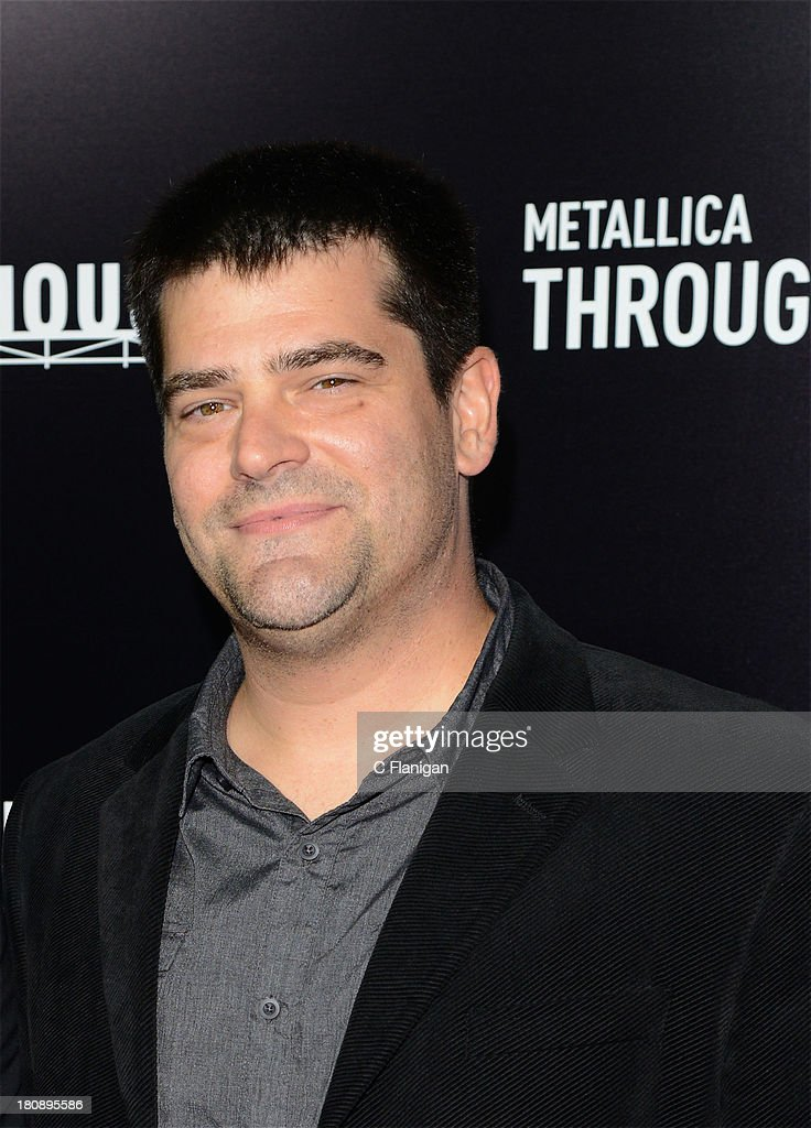 Director Nimrod Antal attends the US Premiere of Metallica Through The Never at the AMC Metreon on September 16 2013 in San Francisco California