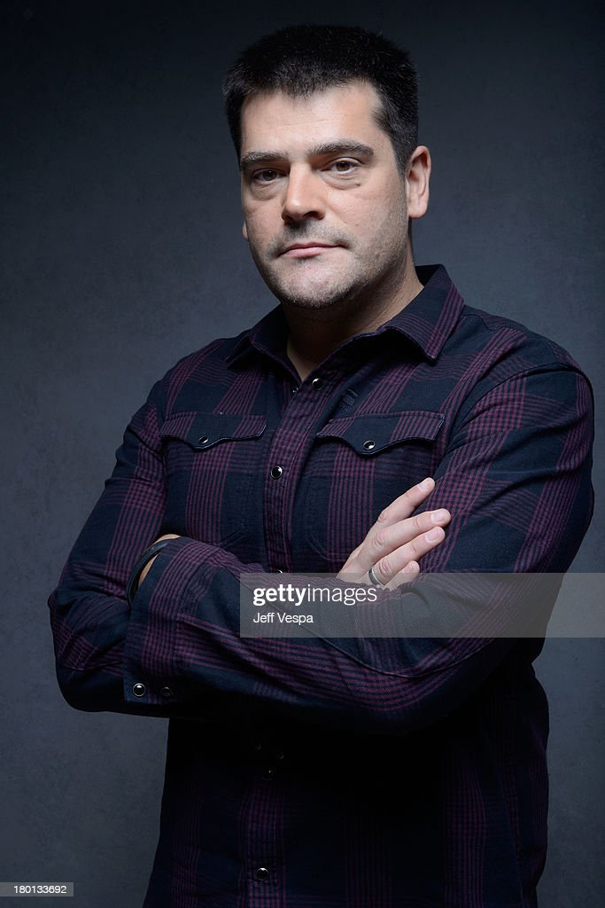 Director Nimrod Antal of 'Metallica Through The Never' poses at the Guess Portrait Studio during 2013 Toronto International Film Festival on...