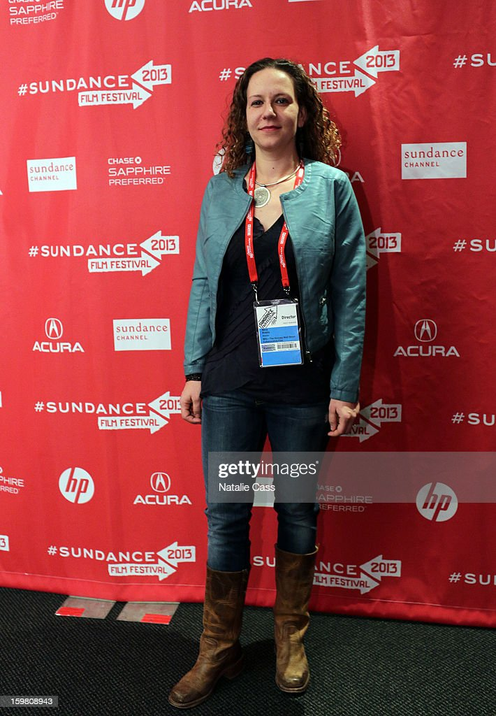 Director Nina Krstic attends the '99% - The Occupy Wall Street Collaborative Film' premiere at Egyptian Theatre during the 2013 Sundance Film Festival on January 20, 2013 in Park City, Utah.