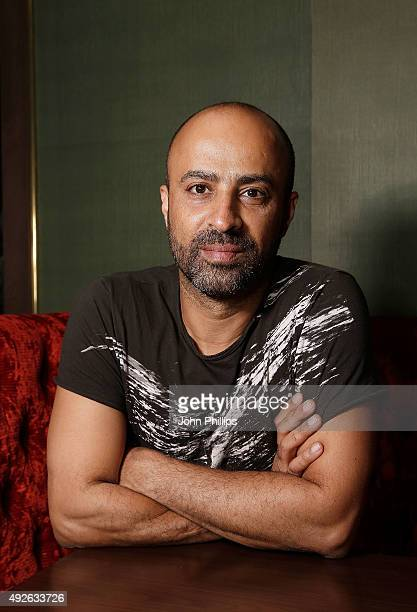 Director Nitzan Gilady attend the FilmMaker Afternoon Tea during the BFI London Film Festival at The Mayfair Hotel on October 14 2015 in London...