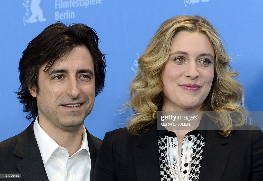 US director Noah Baumbach and US actress Greta Gerwig pose during a photocall for the film 'Frances Ha' presented in the Panorama Special category of the 63rd Berlin International Film Festival in Berlin on February 14, 2013. AFP PHOTO / GERARD JULIEN