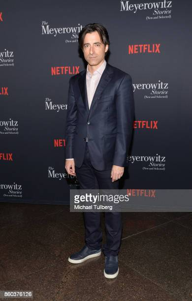 Director Noah Baumbach attends a screening of Netflix's 'The Meyerowitz Stories ' at Directors Guild Of America on October 11 2017 in Los Angeles...