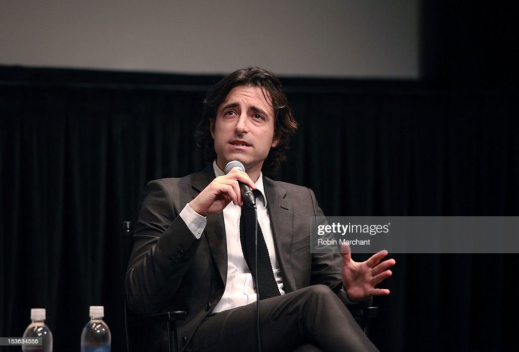 Director Noah Baumbach attends On Cinema during the 50th New York Film Festival at Lincoln Center on October 7, 2012 in New York City.
