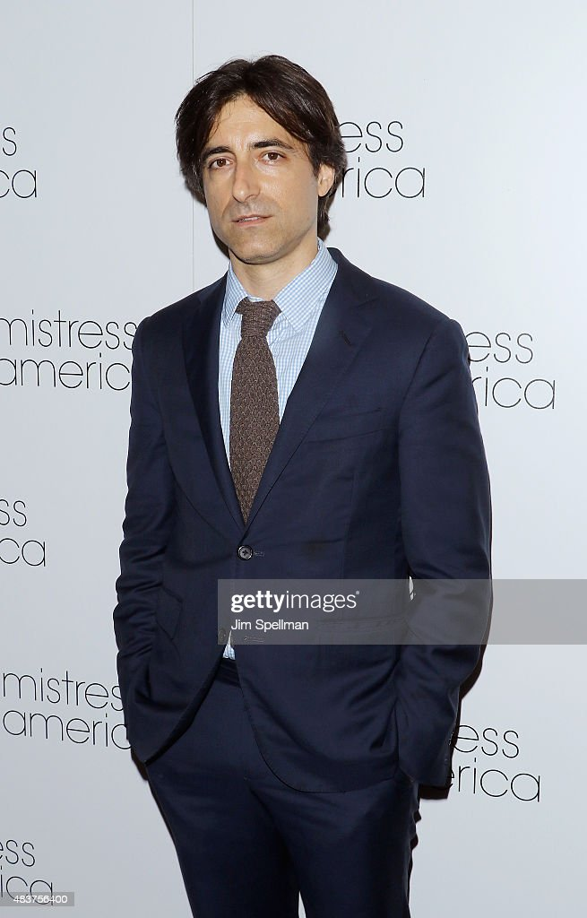 Director <a gi-track='captionPersonalityLinkClicked' href=/galleries/search?phrase=Noah+Baumbach&family=editorial&specificpeople=841432 ng-click='$event.stopPropagation()'>Noah Baumbach</a> attends the 'Mistress America' New York premiere at Landmark Sunshine Cinema on August 12, 2015 in New York City.