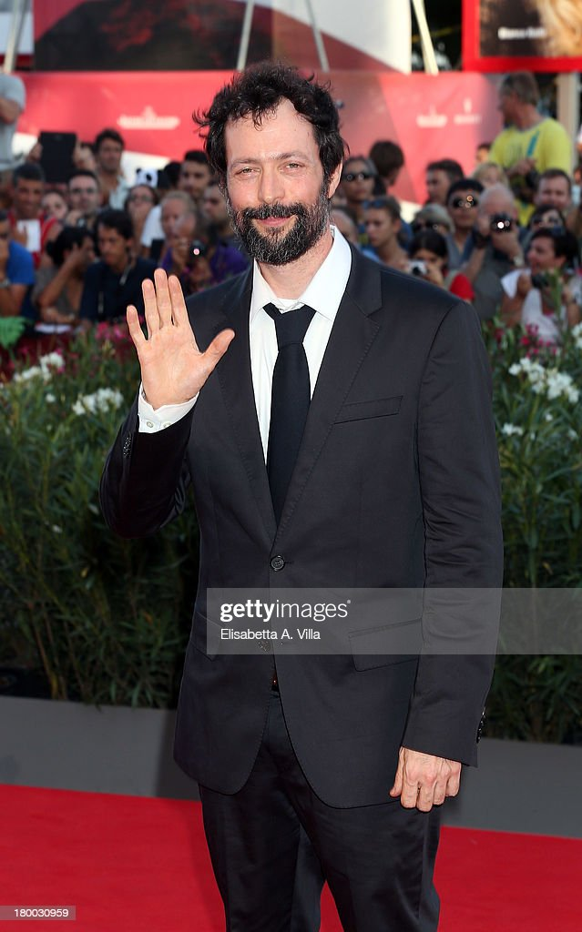 Director Noaz Deshe arrives at the closing ceremony of the 70th Venice International Film Festival at Palazzo del Cinema on September 7, 2013 in Venice, Italy.