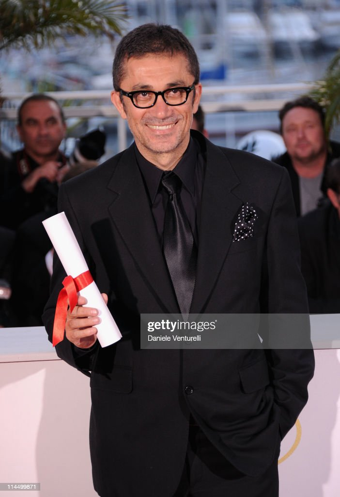 Director Nuri Bilge after winning Grand Prix Ex-aequo award for the film 'Bir Zamanlar Anadolu'da' (Once Upon a Time in Anatolia) during the Palme D'Or Winners Photocall at the 64th Annual Cannes Film Festival at the Palais des Festivals on May 22, 2011 in Cannes, France.
