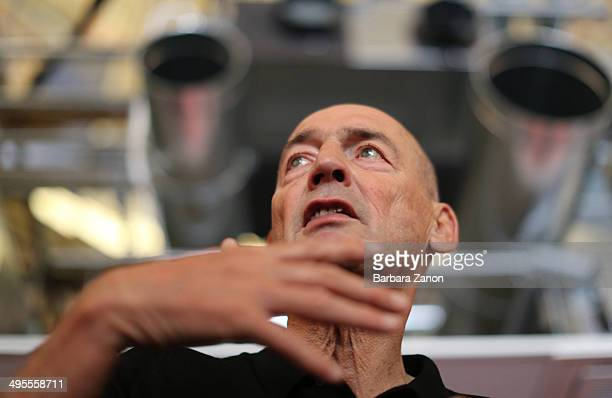 Director of Biennale Rem Koolhaas opens Giardini della Biennale during the opening of The 14th International Architecture Exhibition on June 4 2014...