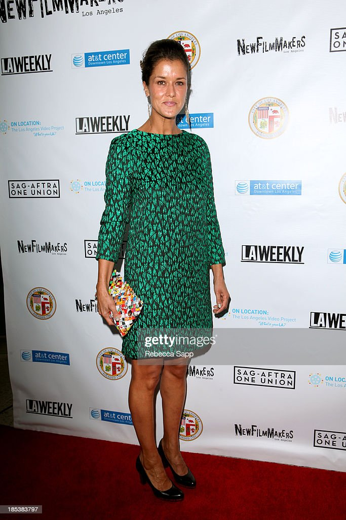 Director of 'Bob and the Midnight Ridazz' Yasmin Hed arrives at the 3rd Annual On Location: The Los Angeles Video Project 2013 at the AT&T Center on October 19, 2013 in Los Angeles, California.