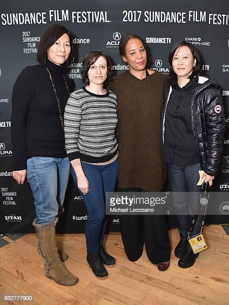 Director of Creative Producing at Sundance Institute Anne Lai Filmmakers Maggie Betts Eliza Hittman and Sundance Film Festival Senior Programmer Kim...