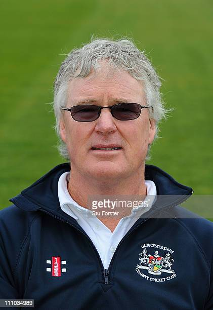 Director of Cricket John Bracewell looks on during the Gloucestershire CCC photocall at the County Ground on March 29 2011 in Bristol England