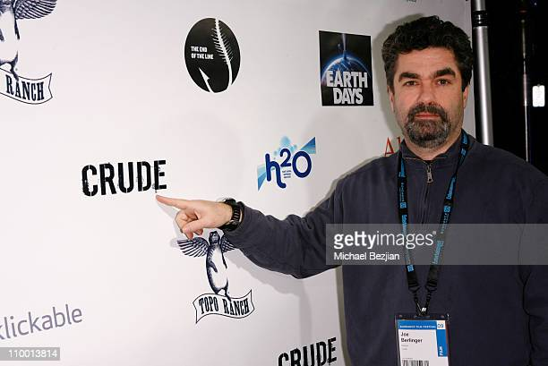 Director of Crude Joe Berlinger at The Green Lodge and Skype host the Big River Man Premiere Party on January 16 2009 in Park City Utah