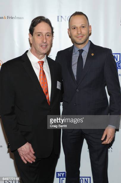 Director of Development and Communications at New York Common Pantry Neill Bogan and Associate Counsel to Governor Andrew M Cuomo Jonathan Estreich...