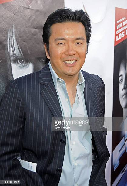 Director of 'Fast Furious' Justin Lin attends Universal Studios Home Entertainment's DVD release of Fast Furious kick off with the US Premiere of Vin...