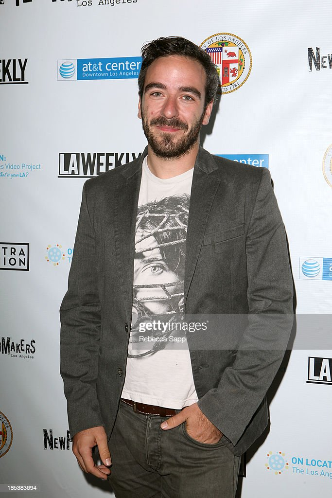 Director of 'Hikikomori' Josema Roig arrives at the 3rd Annual On Location: The Los Angeles Video Project 2013 at the AT&T Center on October 19, 2013 in Los Angeles, California.