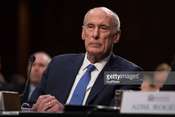 Director of National Intelligence Dan Coats testified in front of the Senate Intelligence Committee ahead of former FBI Director James Comeys...