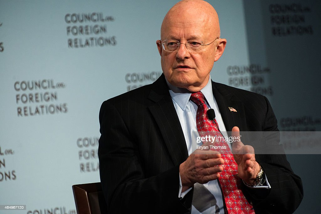 Director Of Nat'l Intelligence James Clapper Speaks At Council On Foreign Relations