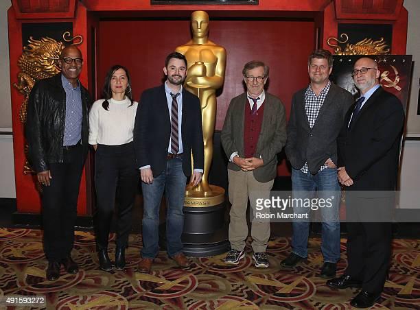 Director of New York Programs Academy of Motion Picture Arts Patrick Harrison costume designer Kasia Walicka Maimone writer Matt Charman director...