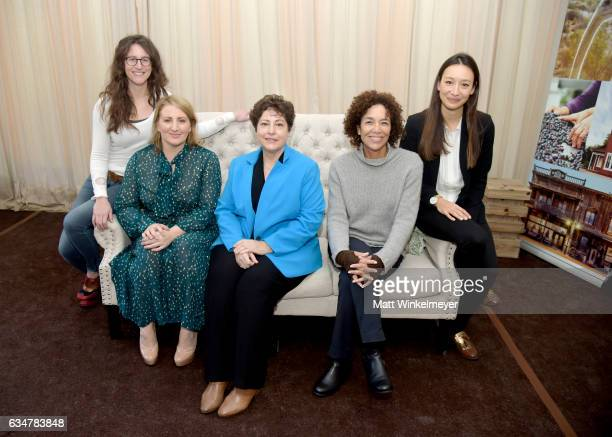 Director of photography Jennifer Jane Choreographer Mandy Moore casting director Deb Aquila producer Stephanie Allain and producer Joanna Natsegara...