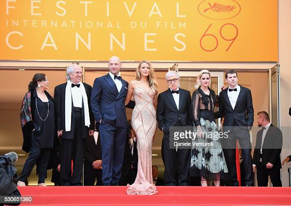 Director of photography Vittorio Storaro actor Corey Stoll actress Blake Lively director Woody Allen actress Kristen Stewart and actor Jesse...