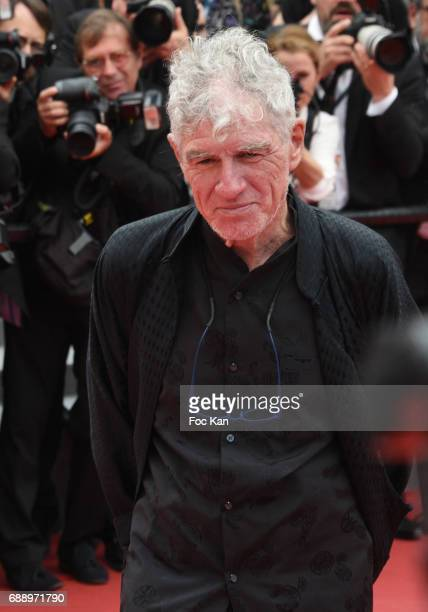 Director of photogrphy Chris Doyle attends 'Amant Double ' Red Carpet Arrivals during the 70th annual Cannes Film Festival at Palais des Festivals on...