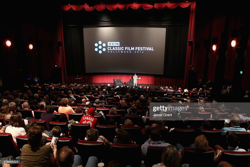 Director of Program Production, Studio Production & Programming Scott McGee speaks onstage during the 'Never Fear' screening during day 2 of the TCM Classic Film Festival 2016 on April 29, 2016 in Los Angeles, California. 25826_009