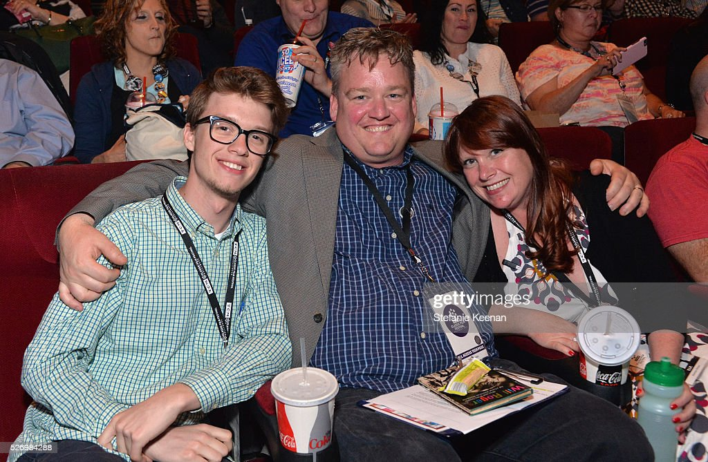 Director of Program Production, Studio Production & Programming Scott McGee (C) and guests attend 'Horse Feathers' screening during day 4 of the TCM Classic Film Festival 2016 on May 1, 2016 in Los Angeles, California. 25826_005