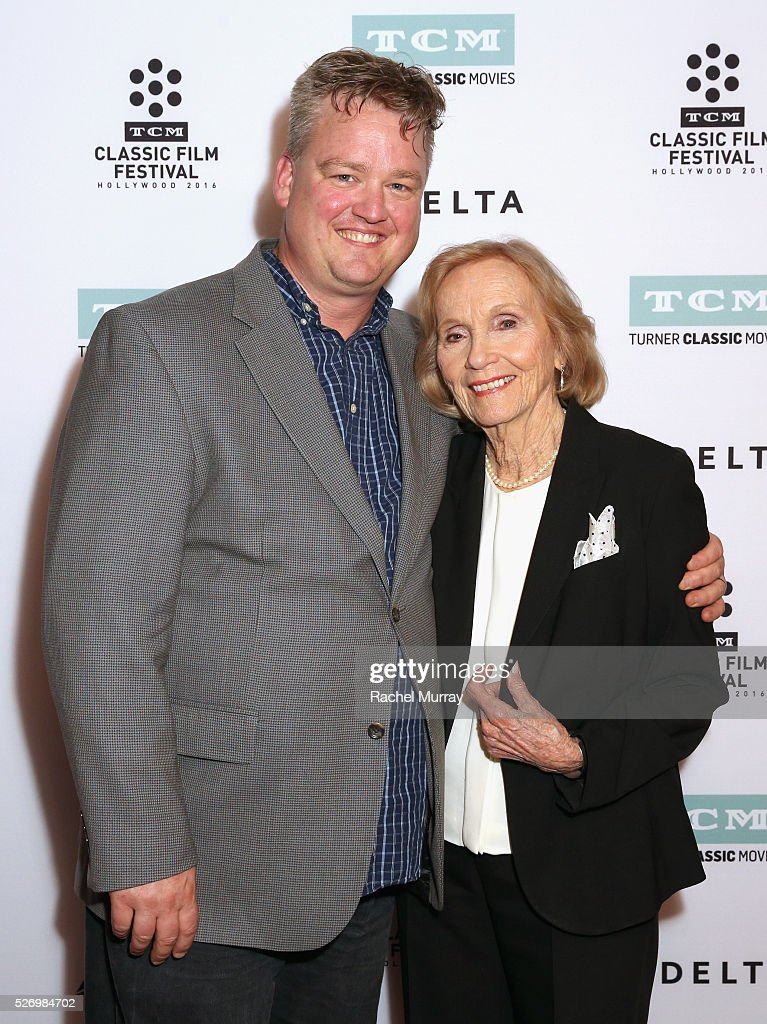 Director of Program Production, Studio Production & Programming Scott McGee (L) and actress Eva Marie Saint attend 'The Russians Are Coming, the Russians Are Coming' screening during day 4 of the TCM Classic Film Festival 2016 on May 1, 2016 in Los Angeles, California. 25826_007