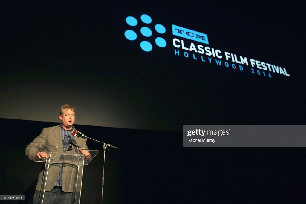 Director of Program Production, Studio Production & Programming Scott McGee speaks onstage at 'The Russians Are Coming, the Russians Are Coming' screening during day 4 of the TCM Classic Film Festival 2016 on May 1, 2016 in Los Angeles, California. 25826_007