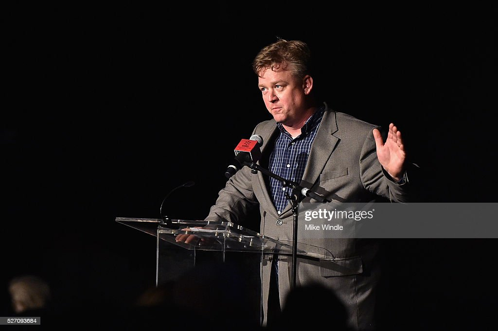 Director of Program Production, Studio Production & Programming Scott McGee speaks onstage at 'Network' screening during day 4 of the TCM Classic Film Festival 2016 on May 1, 2016 in Los Angeles, California. 25826_008