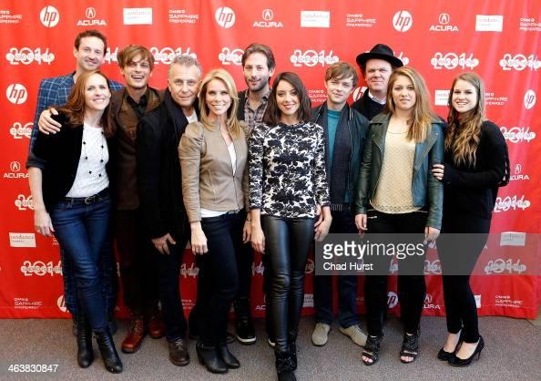 Director of Programming for the Sundance Film Festival Trevor Groth Molly Shannon Matthew Gray Gubler Paul Reiser Cheryl Hines Jeff Baena Aubrey...
