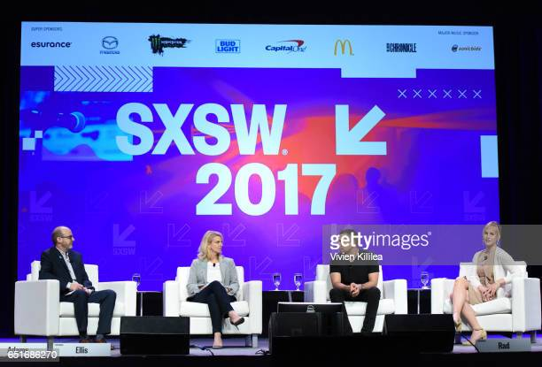 Director of Programs Transgender Media at GLAAD Nick Adams GLAAD President and CEO Sarah Kate Ellis Founder and CEO of Tinder Sean Rad and artist and...