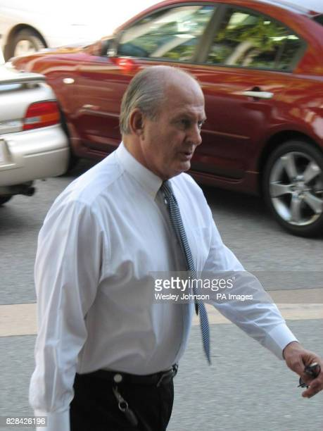 Director of Public Prosecutors Rex Wild QC arrives at the Northern Territory Supreme Court in Darwin in Australia Tuesday November 2 2005 Samples of...