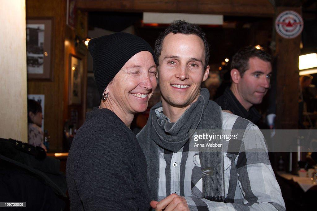 Director of Rebel, Rebel, Rebel Kyle Schneider and sister Rebecca Baehler attend the Social Lodge At Sundance Film Festival at Cisero's Bar on January 19, 2013 in Park City, Utah.