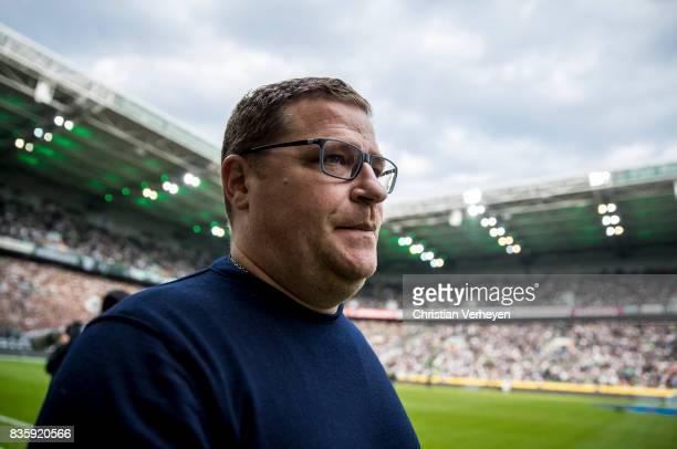Director of Sport Max Eberl of Borussia Moenchengladbach prior the Bundesliga match between Borussia Moenchengladbach and 1 FC Koeln at BorussiaPark...