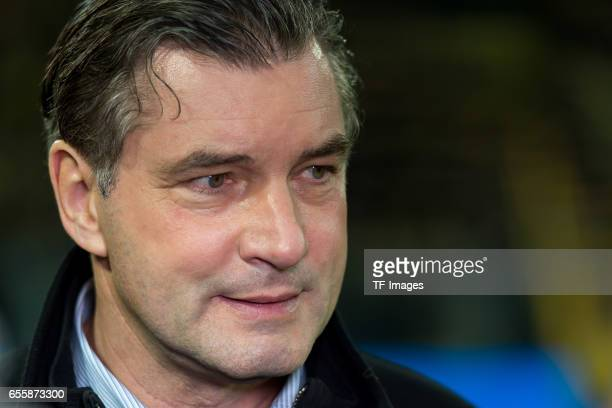 Director of Sports Michael Zorc of Dortmund looks on during the Bundesliga match between Borussia Dortmund and FC Ingolstadt 04 at Signal Iduna Park...