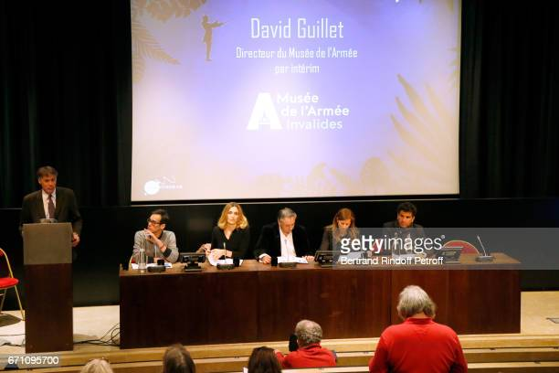 Director of the Army Museum by Interim David Guillet CoStage Direction of the Opera Ken Higelin Stage Director of the Opera Julie Gayet Music...