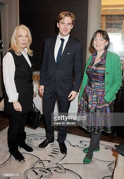 Director of the British Film Institute Amanda Nevill actor Dan Stevens and Artistic Director of The Donmar Warehouse Josie Rourke attend the...
