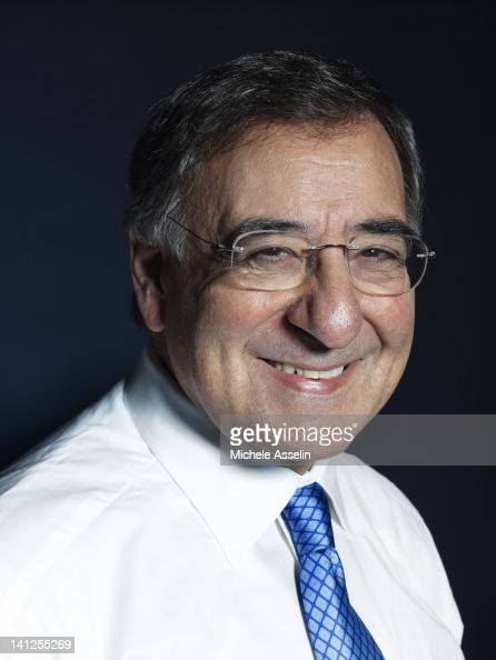 Director of the CIA Leon Panetta is photographed for Time Magazine NY on October 20 2009 in New York City