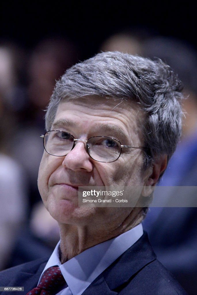 Jeffrey Sachs Delivers Sustainable Development Lecture In Rome