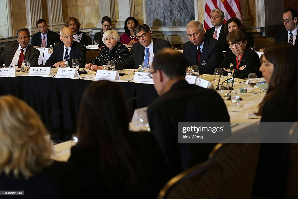 Director of the Federal Housing Finance Agency Melvin Watt chairman of the Commodity Futures Trading Commission Timothy Massad Federal Reserve Board...