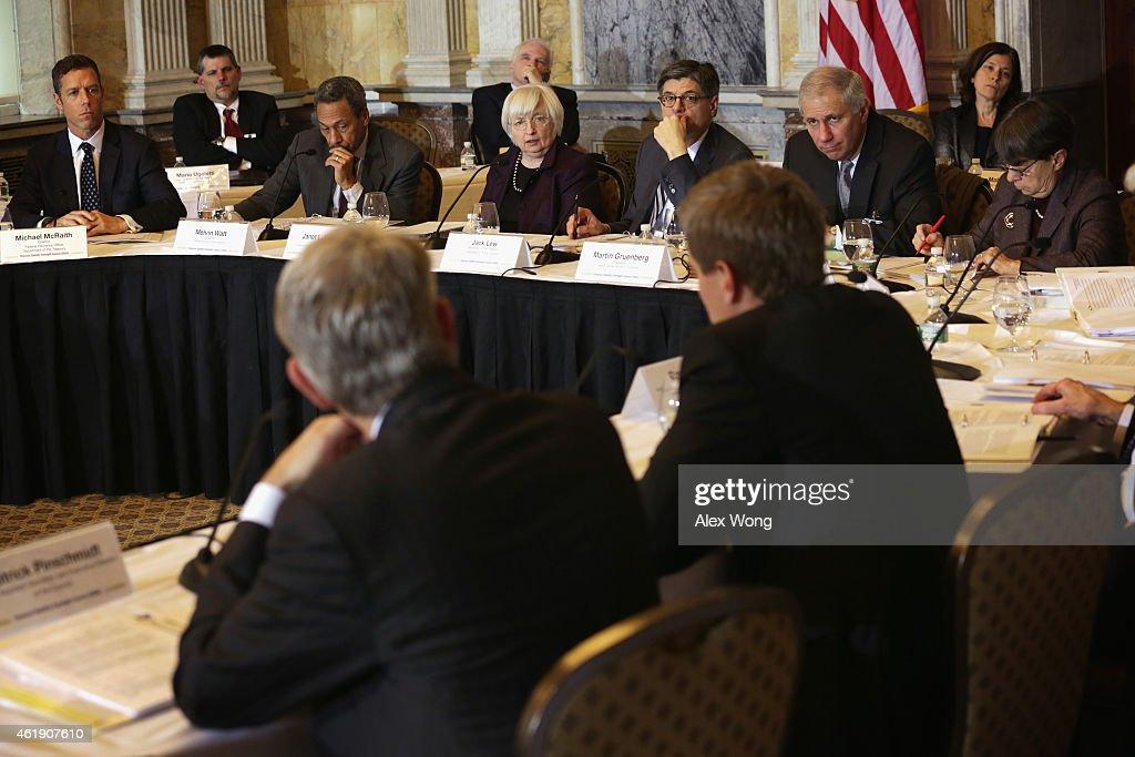 Director of the Federal Insurance Office Michael McRaith Federal Housing Finance Agency Director Melvin Watt Federal Reserve Board Chair Janet Yellen...